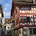 schöne Riegelhäuser in der Altstadt