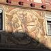 auch auf dieser Fassade der heilige Georg