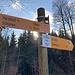 Bei der Chroobachhütte ist ein weiterer Rastplatz erreicht