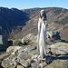 Monte Argentea: in cima