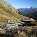 Im Abstieg vom Monte Gorzano - Kurz vor Erreichen der kleinen Betonbrücke.