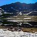 Am Independence Lake (nicht einer der Seen am Independence Pass!). Im Hintergrund der Grat des Twinning Peaks.