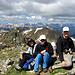 Auf dem East Geissler Peak, dem höchsten in der Kette