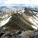 Beim Abstieg vom Geissler Mountain, Blick auf West Geissler