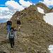 Abstieg vom Geissler Mountain