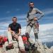 Am Gipfel der Kl. Gamswiesenspitze