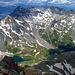 Die Blue Lakes, vom Sneffels Gipfel