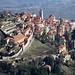Zoom sul Borgo del Sacro Monte di Varese