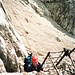 Auf dem Sentiero Ettore Castiglioni hat man kaum Felsberührung.