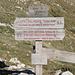 Vado di Siella - Am 1.725 m hoch gelegenen Passübergang.