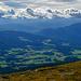 Blick vom Zirbitzkogel, 2396 Meter, Prominenz 1502 Meter