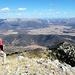 Auf dem Gipfel der Ostrakina (1980m), ziemlich genau in der Mitte der Halbinsel Peloponnes. Hier der Blick nach NO.