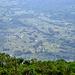 Blick ins Tal, vom Bisoke Anstieg