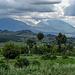 Drei der Virungas: Sabinyo, Gahinga, und Muhavura (4127 Meter). Bericht der Muhavura Besteigung folgt.