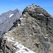 Endspurt zum Ziel. Gipfelaufbau Ferdenrothorn 3180m