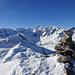 Beste Einblicke ins Bernina-Massiv vom Piz Albris