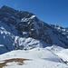 Sicht entlang des Winterwanderweges der Fürenalp.