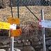 In Casere endet die Mulattiera und der Bergweg zum Gipfel beginnt.