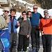 <b>All'arrivo ad Hinterrhein posso festeggiare la buona riuscita dell'escursione con un brindisi a base di Prosecco, condiviso con gli amici del SAC Baldern e con la loro guida alpina Bruno: Prosit!</b>