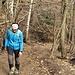 Salendo alla Martica percorrendo il sentiero che prende avvio dalla Forcella..