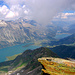 The Engadin from the route to Margna