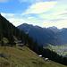 Das Gweilmaisäß hoch über St. Gallenkirch.