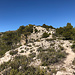 Abstiegsweg (selten graublau punktmarkiert)
