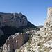 Barranc del Sinc von oben