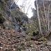 Sentiero verso Velina (tratto attrezzato)
