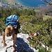 Ein schönes Kraxelambiente fast 700 m über dem Vierwaldstättersee. Der Ausgangspunkt befindet sich in der linken oberen Ecke  ©.Rösly