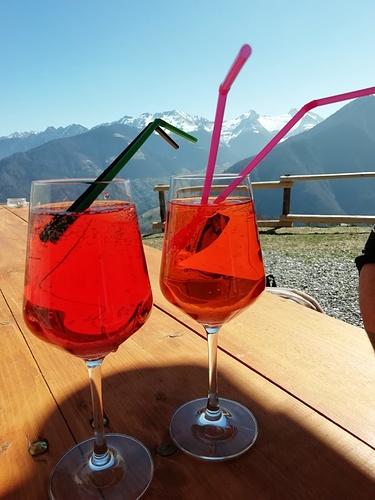 Altro che terrazza Martini a Milano....