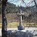 Steinkreuz am Eingang nach Vorderdorf