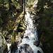 ein Blick auf die Menzenschwander Alb und die Wasserfälle