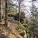 Gneis herrscht hier vor, wie an vielen Stellen im Schwarzwald.
