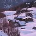 Alpe di Campagneda al tramonto.