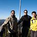 Steffen, Jörg und ich auf dem Orenfelsen.