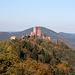 Auf dem Burgenweg. Die Burg Trifels.