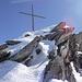 Gipfelkreuz Gross Leckihorn.