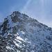 Bergsteiger am Grat