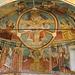Gli affreschi dell'abside, opera della bottega dei Cagnola.