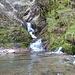 Confluenza del Rio Caprera e il torrente proveniente da Cabiaglio