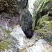 Stretta gola del Rio Caprera