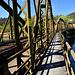 zu querende Eisenbahnbrücke