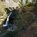 Derselbe Wasserfall im Panorama.