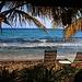 Das ist Karibik Urlab - Stand am South Friar's Bay.