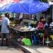 Gemüsemarkt von Saint John's in der Markeet Street.