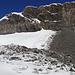 Ablagerung des Bergsturzes