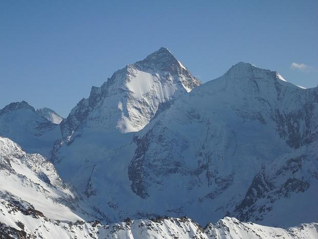 Zoomaufnahme; im Hintergrund ist Dent d`Herens sichtbar