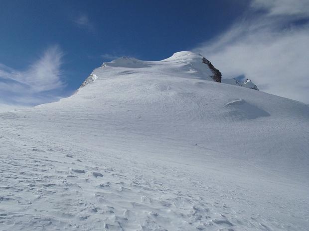 Im Anstieg zum Bishorn