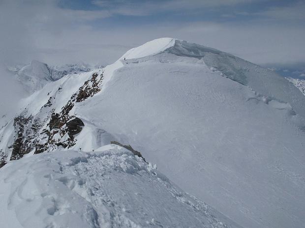 An diesem Tag immerhin zwei Gipfel mit mehr als 4000m Höhe erreicht!